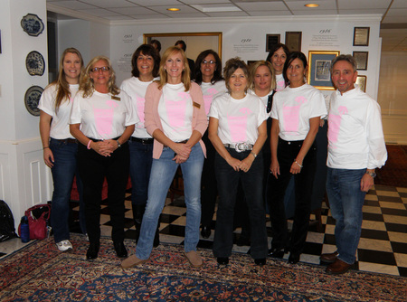"Volunteers For The ""Breast Night Ever"" T-Shirt Photo"