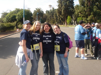 Nami Walk Photo Team Psyched At Csusm T-Shirt Photo