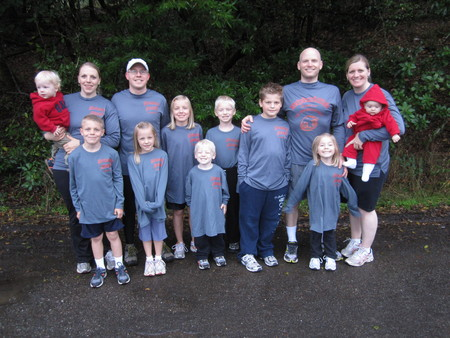 Thanksgiving Day Run T-Shirt Photo