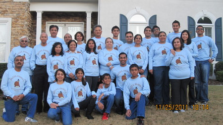 Patel Family Thanksgiving T-Shirt Photo