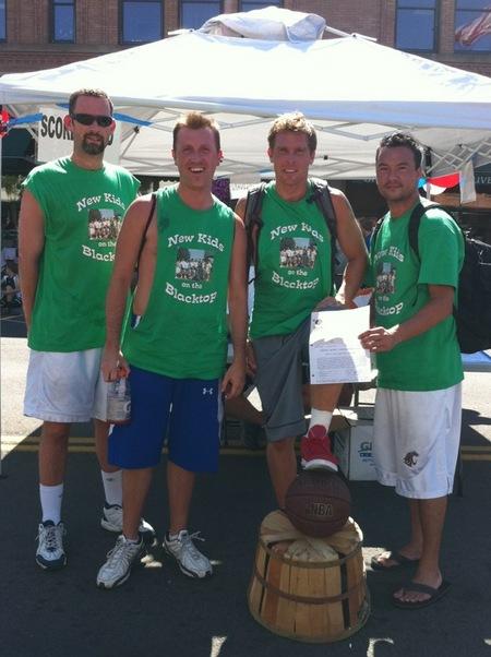 Peach Basket Classic   Nkotb T-Shirt Photo