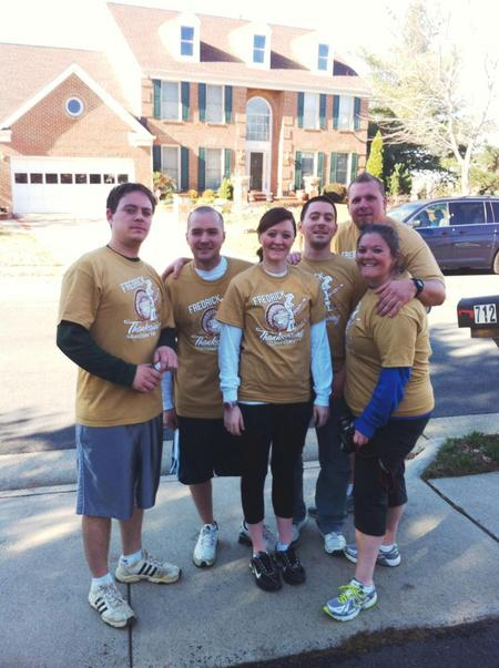 Turkey Trottin' T-Shirt Photo