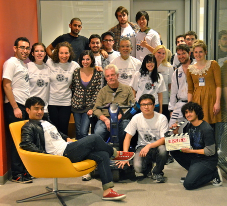 Lift Off!   Nyu Advanced Tv Fall 2011 T-Shirt Photo