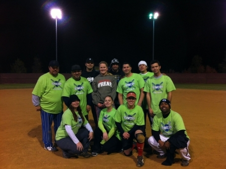 Schweddy Balls & Muffins Takes The Tournament T-Shirt Photo