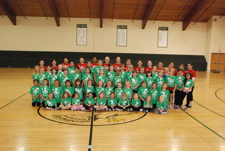 2011 Jr. Poms Clinic T-Shirt Photo