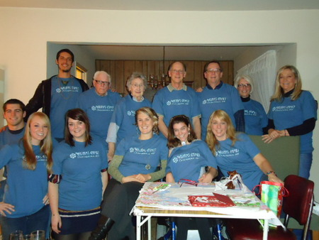Williams Family Christmas 2011 T-Shirt Photo