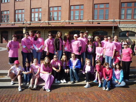 Team Shelly, Breast Cancer Walk. T-Shirt Photo