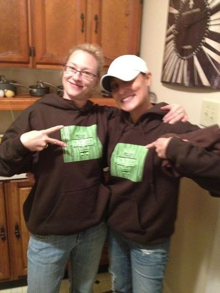 Two Happy Tiki Lounge Hoodie Recipients T-Shirt Photo