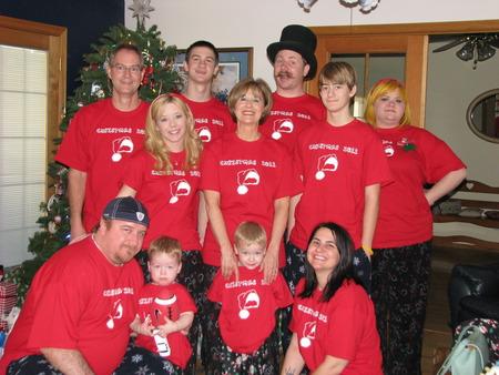 Happy Mom's Family T-Shirt Photo