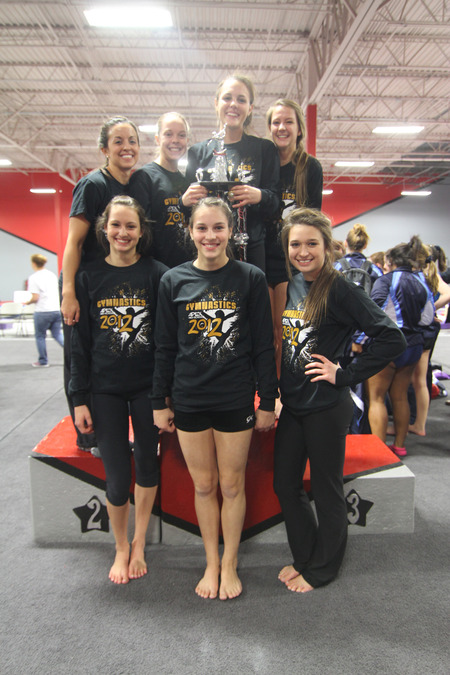 Apex Hs 2012 Gymnastics Conference Champions T-Shirt Photo