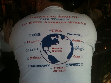 Drinking Around The Epcot World To Keep America Strong! T-Shirt Photo