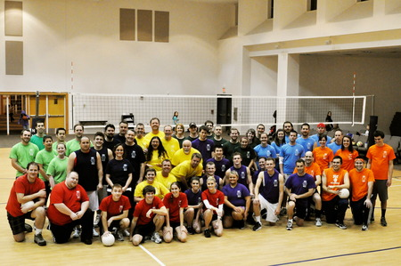 72 Serious Volleyball Players Look Great In Their Custom Ink T's! T-Shirt Photo