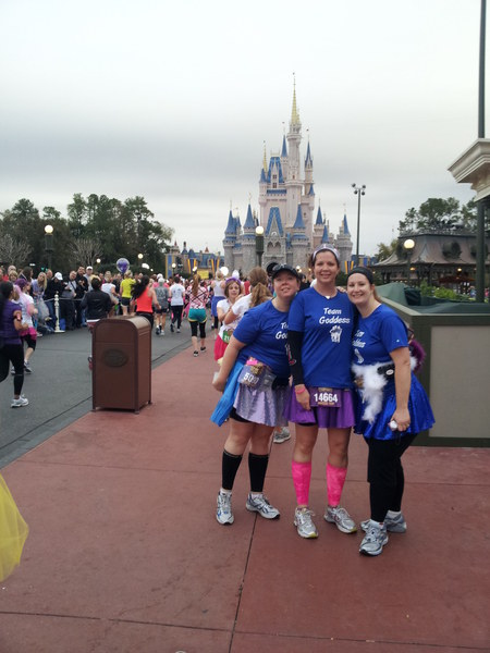 Princess Half Marathon 2012 T-Shirt Photo