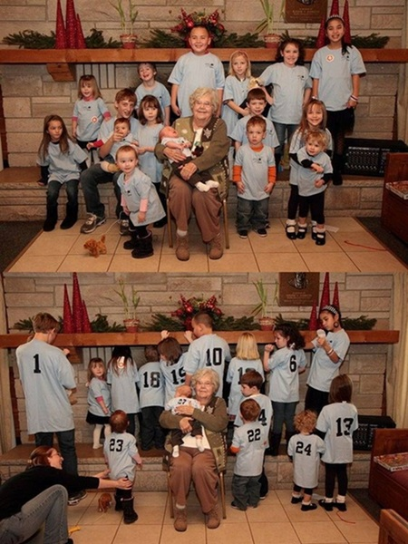 Grandma Heap's Stars T-Shirt Photo