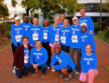 Team Shire   Race For The Cure T-Shirt Photo