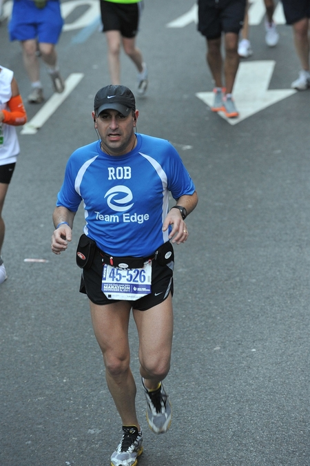 Team Edge 2011 Nyc Marathon T-Shirt Photo