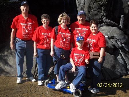 Team Jake Mda T-Shirt Photo