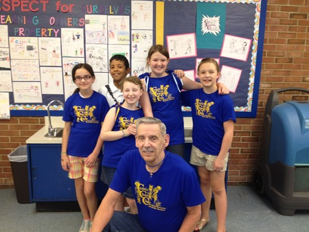 Comic Character Club, Shady Side Elementary, Shady Side, Md T-Shirt Photo