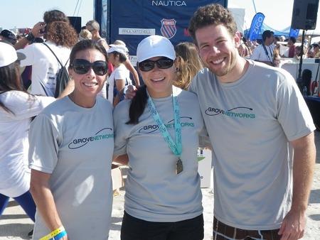 Nautica South Beach Triathlon T-Shirt Photo