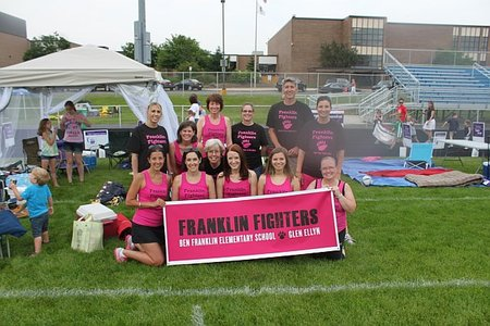 Franklin Fighters Relay For Life T-Shirt Photo