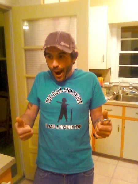 Steven's Tee Ball Shirt T-Shirt Photo
