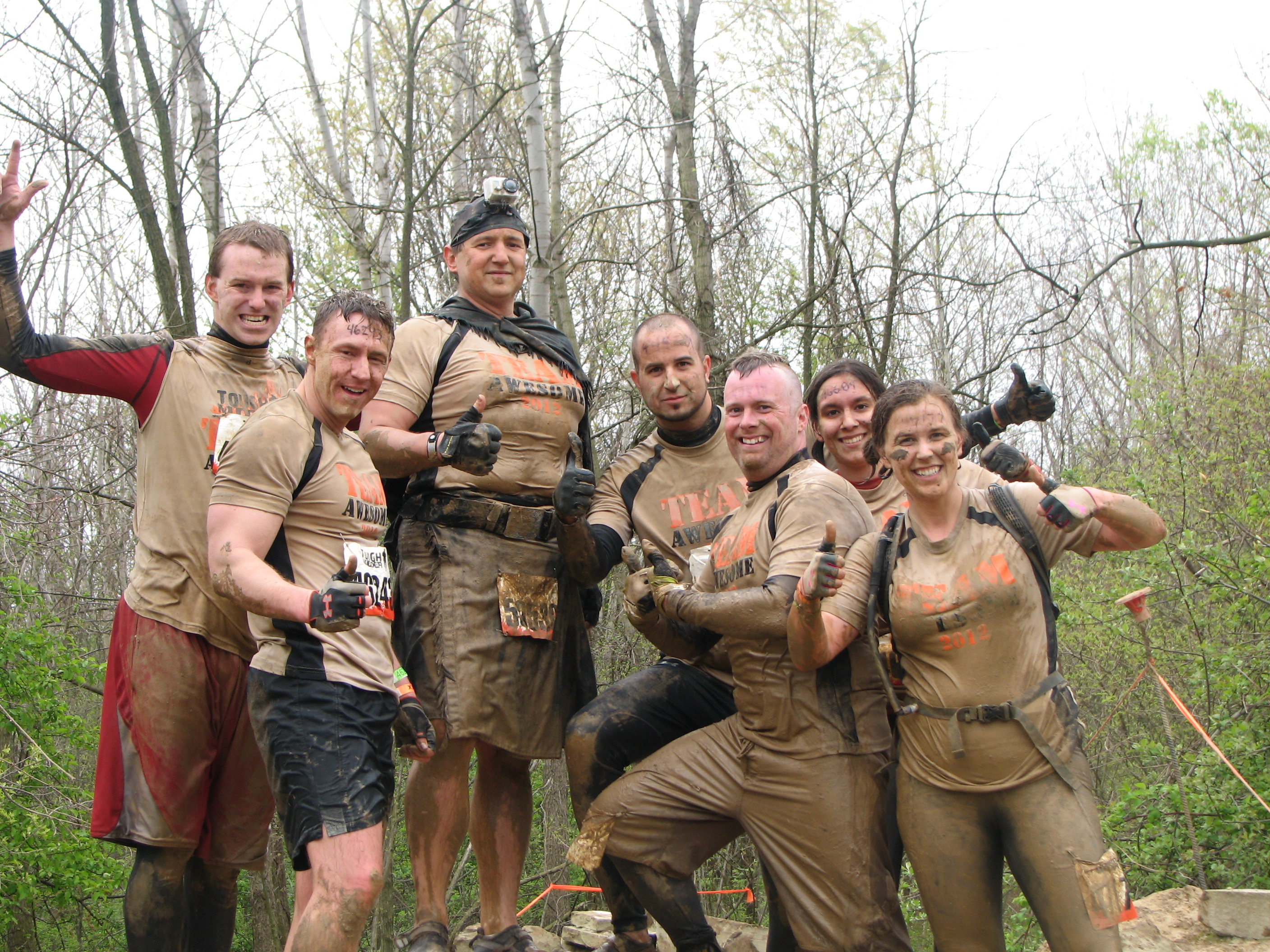 Design your own t shirt military - On Top Of The World At The Michigan 2012 Tough Mudder T Shirt Photo