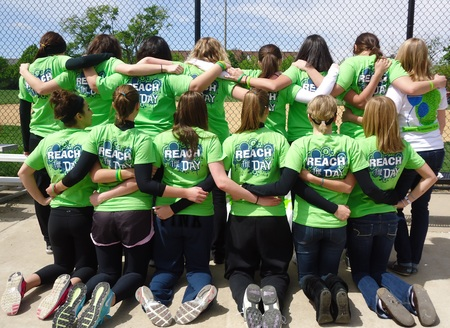 Kick For A Cure 2012 T-Shirt Photo