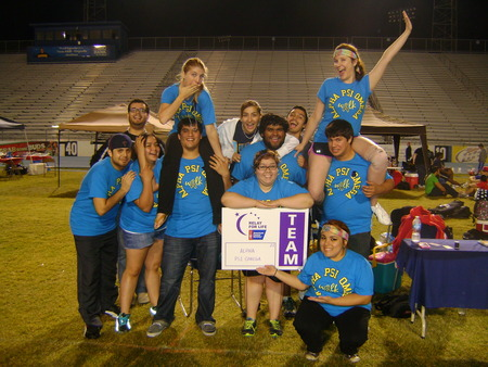 Alpha Psi Omega Relay For Life! T-Shirt Photo