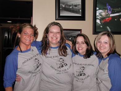 Irene Burd Pub Crawl T-Shirt Photo