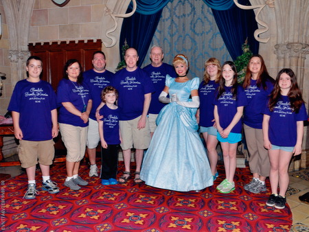 Custom Ink Is Our Fairy Godmother And Dressed Us Up For The Ball! T-Shirt Photo