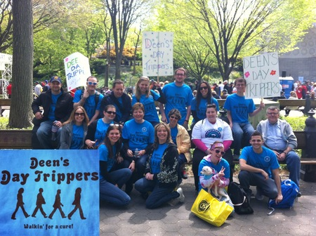 Deen's Day Trippers At The 2012 Parkinson's Unity Walk In Central Park T-Shirt Photo