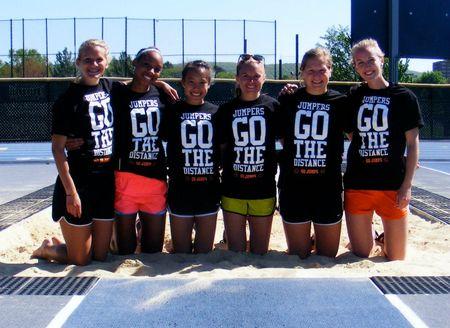 Su Jumpers Representing At Championships! T-Shirt Photo