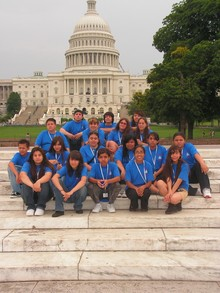 Torch Middle School Dc Trip T-Shirt Photo