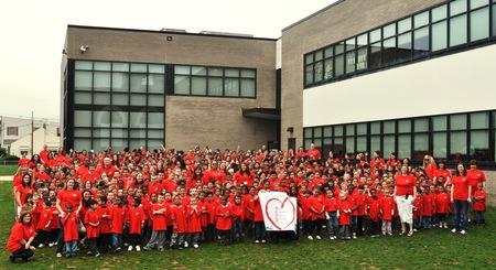 Roosevelt Elementary School  H.E.A.R.T. T-Shirt Photo