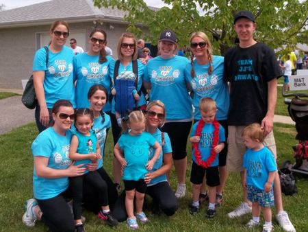 Great Strides Walk To Cure Cystic Fibrosis T-Shirt Photo
