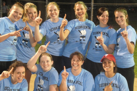 1st Ever Uconn Dental Women's Softball Team! T-Shirt Photo