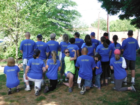 Cf Walk 2012 Team Julianne T-Shirt Photo