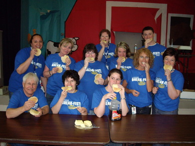 Lyman Breakfest Relayfor Life Crew T-Shirt Photo
