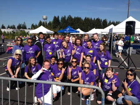 Puyallup High School Jdrf Walk T-Shirt Photo