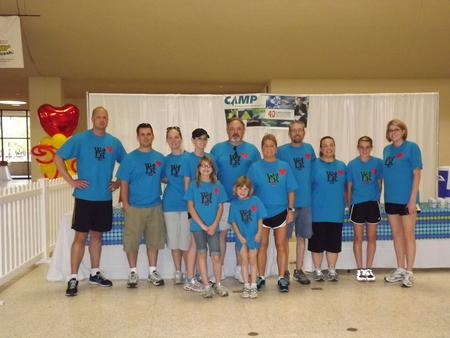 Team Camp (2) T-Shirt Photo