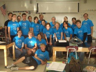 Libertyville High School Ap Bio Class 06 07 T-Shirt Photo