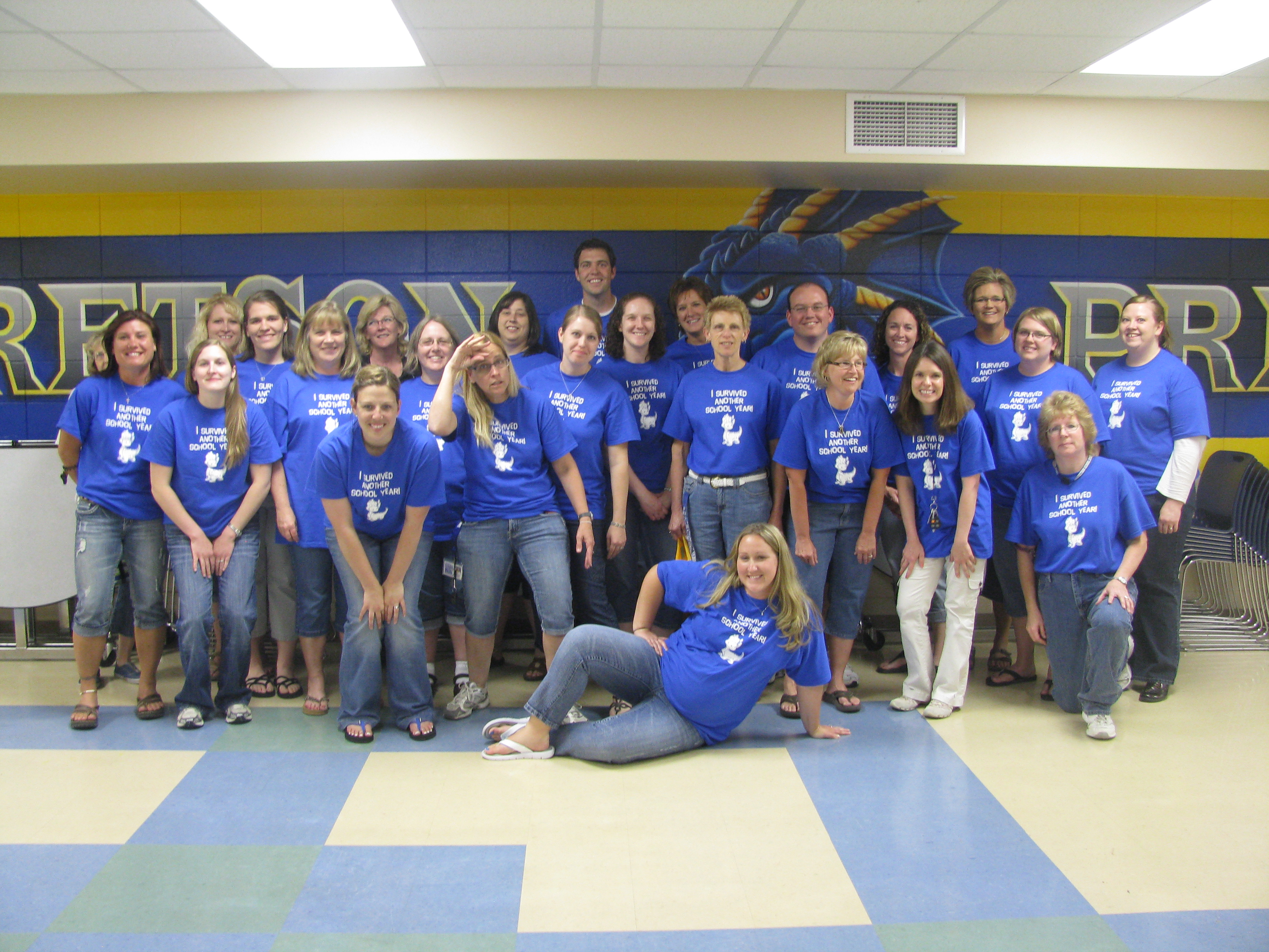 T shirt design ideas for schools - We Survived Another School Year T Shirt Photo