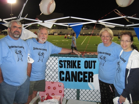 Strike Out Cancer   Relay For Life Allen, Tx T-Shirt Photo