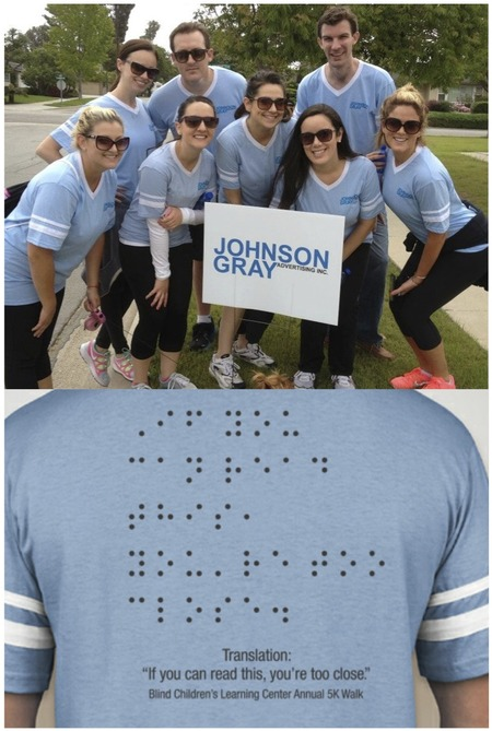 Blind Children's Learning Center 5k Walk For Independence T-Shirt Photo