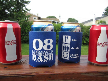 Brennan Bash Drink Koozies T-Shirt Photo