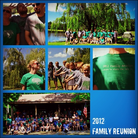 2012 Wilson Lake Family Reunion T-Shirt Photo
