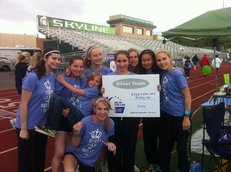 Relay For Life 2012 T-Shirt Photo