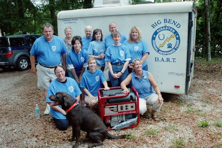 Big Bend Disaster Animal Response Team Ready For Action! T-Shirt Photo