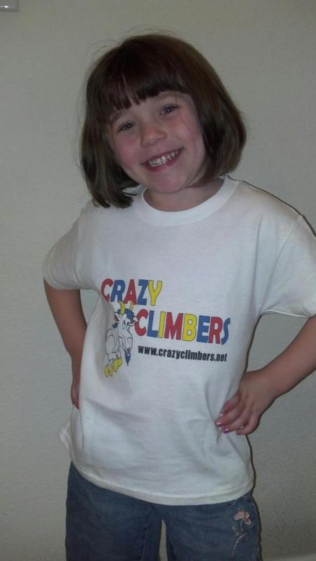 "Faith, The ""Original"" Crazy Climber T-Shirt Photo"