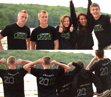 Dock Seniors   2012 T-Shirt Photo